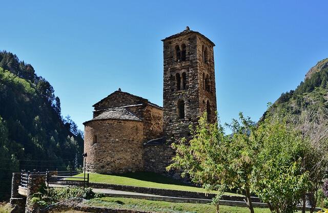 Eglise Sant Joan de Caselles, Andorre