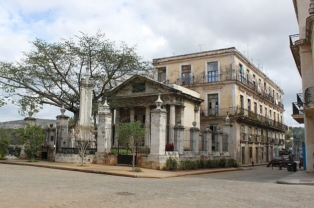 El Templete, La Havane
