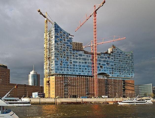 elbphilharmonie, Hambourg, salle de concerts