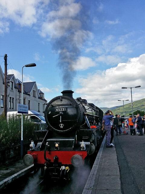 Jacobite train, Poudlard Express