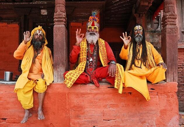 Katmandou, yoga, Durbar Square, Népal