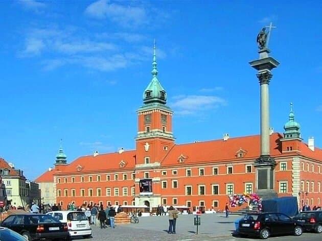 Palais royal de Varsovie