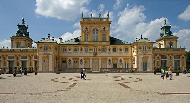 Palais Wilanow, Varsovie