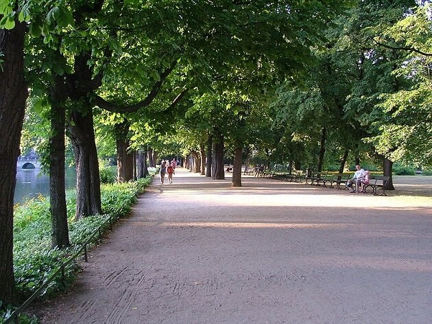 Parc Lazienki, Varsovie