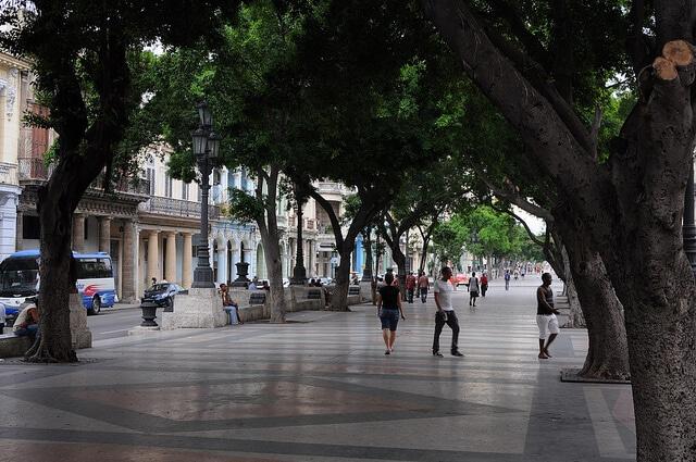 Paseo del Prado, Paseo de Marti, La Havane