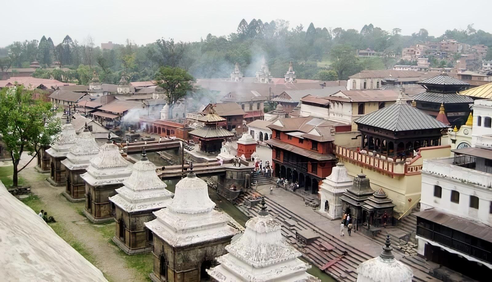 Pashupatinath, ville spirituelle, Népal