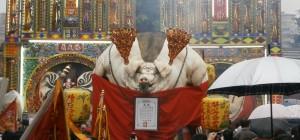 Pigs of God, festival, Taiwan, énorme cochon