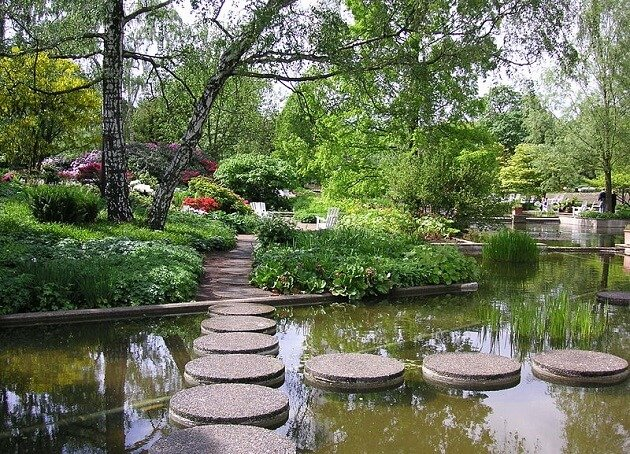 Planten un Blomen, jardin, Hambourg
