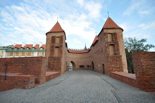 Remparts vieille ville, Stare Miasto, Varsovie
