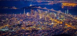 Vincent Laforet, photo aériennes, nuit, San Francisco