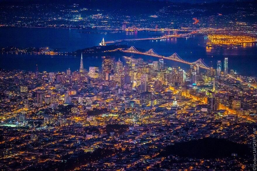San Francisco scintille de mille feux avec de superbes photos aériennes