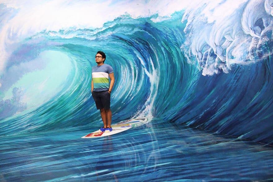Un musée 3D interactif insolite a ouvert aux Philippines
