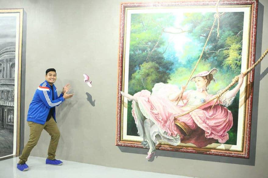 Art in Island, Musée 3d, Manille, Philippines