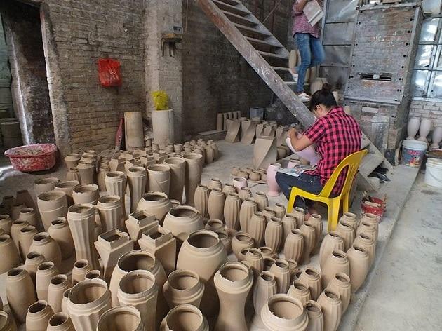 Bat Trang Village poterie, Vietnam