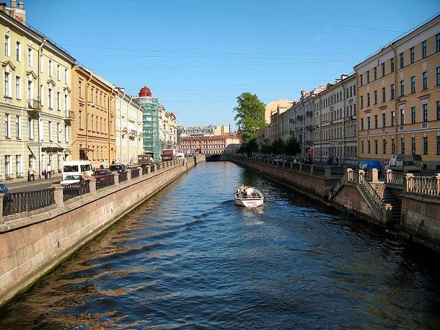 Canal Griboyedov, Saint Petersbourg