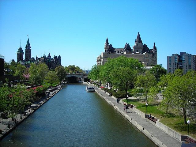 Canal Rideau, Ottawa