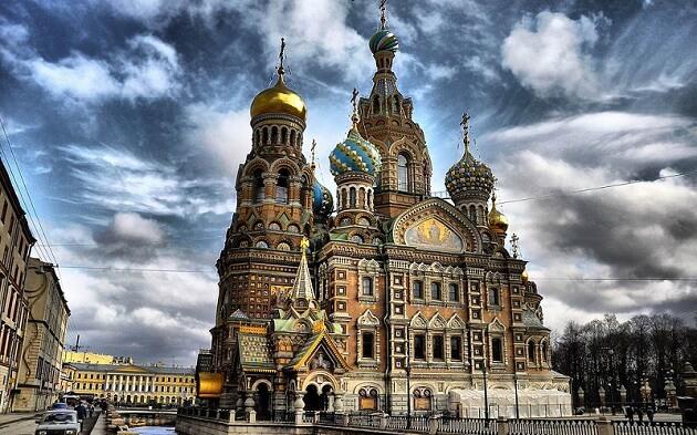 Cathédrale Saint-Sauveur-sur-le-Sang-Versé de Saint-Pétersbourg