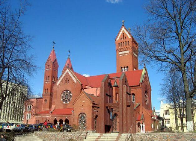 cathédrale Saint-Siméon-et-Sainte-Hélène, Minsk