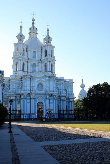 Cathédrale de Smolny, monastère, Saint Petersbourg