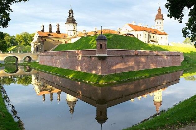 Château de Niasvij, Biélorussie