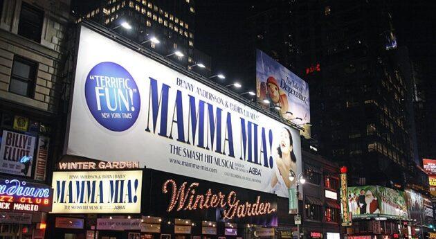 Billets pour voir la comédie musicale Mamma Mia! sur Broadway