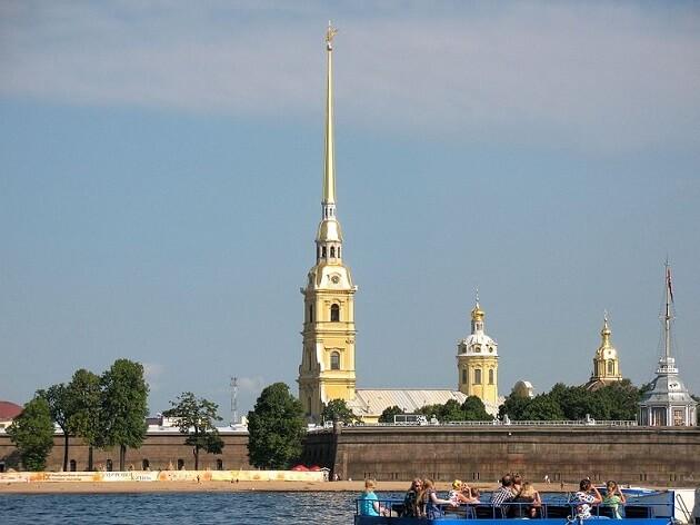 Forteresse Pierre-et-Paul, Saint-Petersbourg
