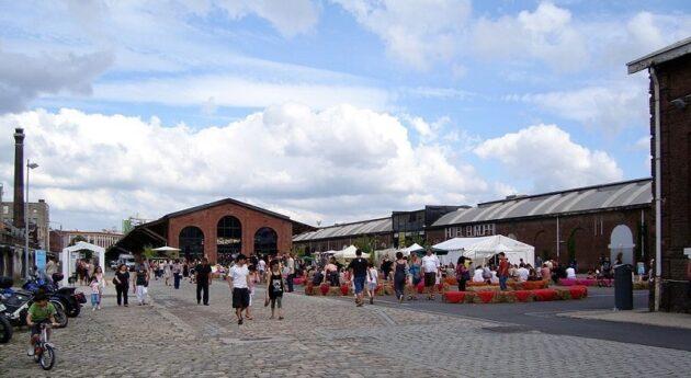 La Gare Saint sauveur, lieu éclectique à Lille
