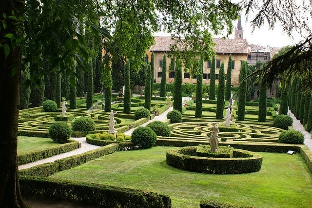 Giardino Giusti, Vérone