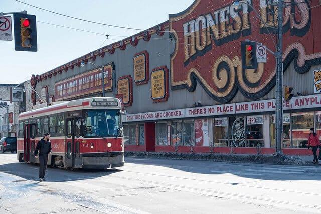 Honest Ed's Toronto, Bloor & Bathurst