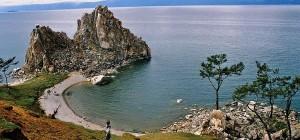 Île d'Olkhon, lac Baikal, Russie