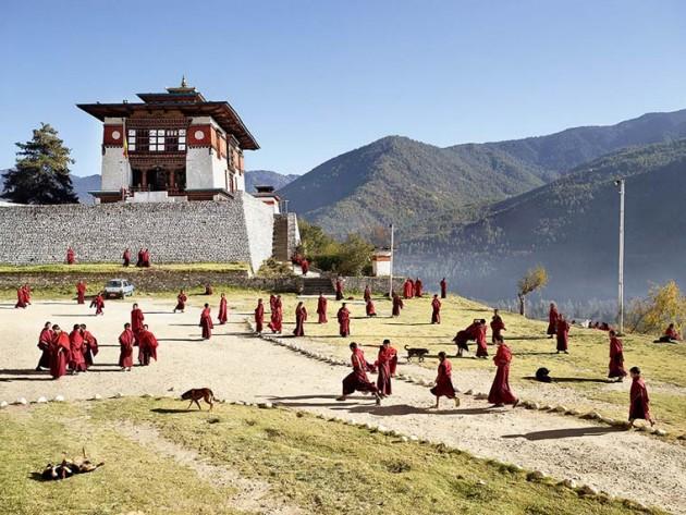 En images: les cours de récréation d'écoles à travers le monde