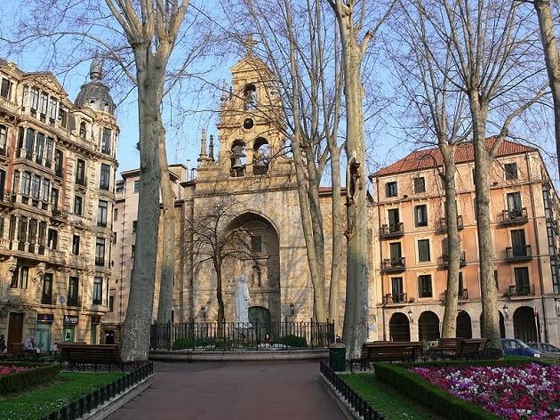 Jardins de Albian Bilbao