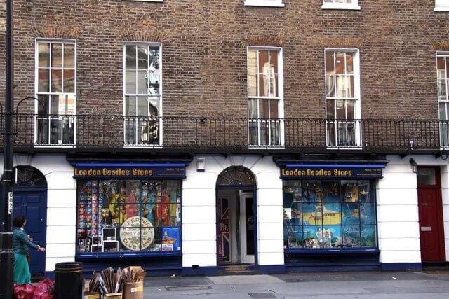 London Beatles Store, Baker street, Beatles tour