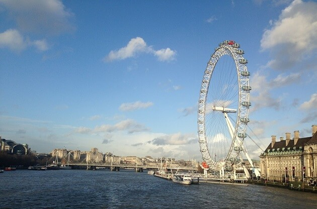 London Eye, billet coupe-file, Londres
