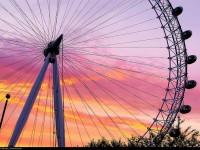 London Eye, billet coupe-file, Londres