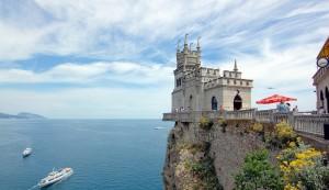 Nid d'hirondelle, chateau, Crimeée, Mer Noire