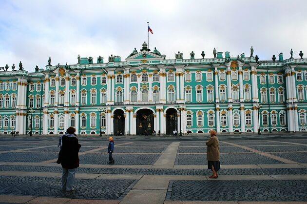 Palais d'Hiver,  Saint Petersbourg