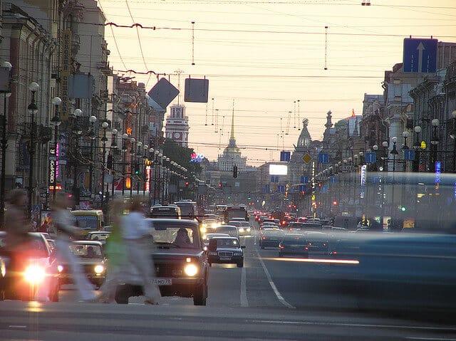 Perspective Nevski, Saint-Petersbourg