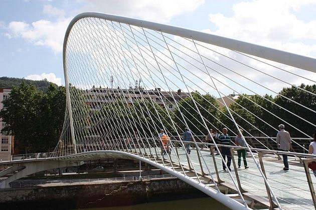 Pont Zubizuri, Bilbao