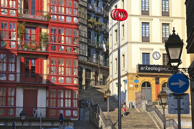 Quartier Las Siete Calles, Bilbao, vieille ville