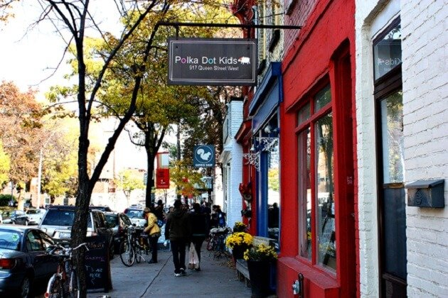 Queen Street West, Toronto