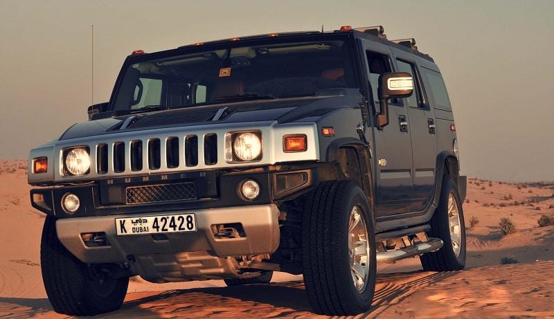 Safari en Hummer et dîner BBQ dans le désert de Dubaï