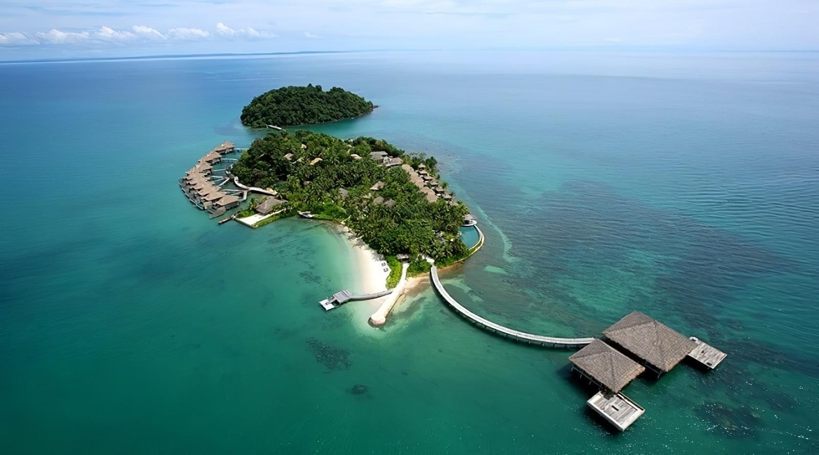 L'hôtel le plus luxueux du Cambodge, le Song Saa