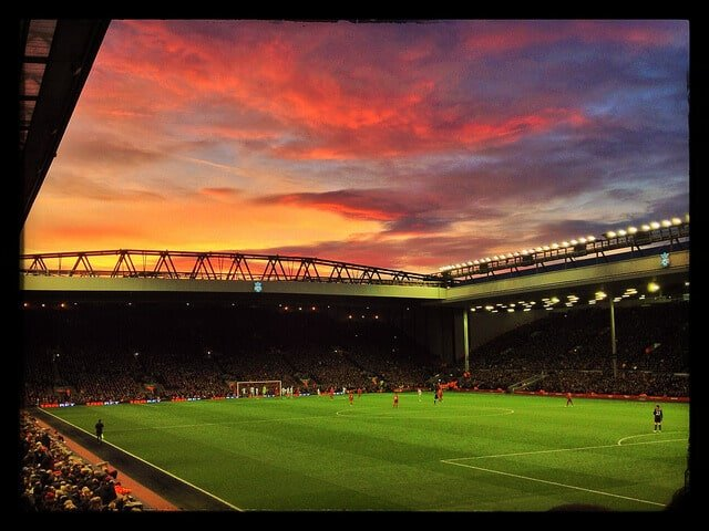 Stade Anfield Road, Liverpool