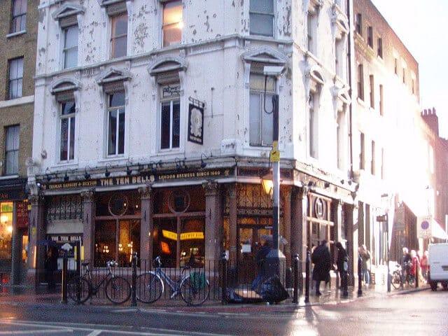 Ten Bells pub, Jack l'éventreur, Londres