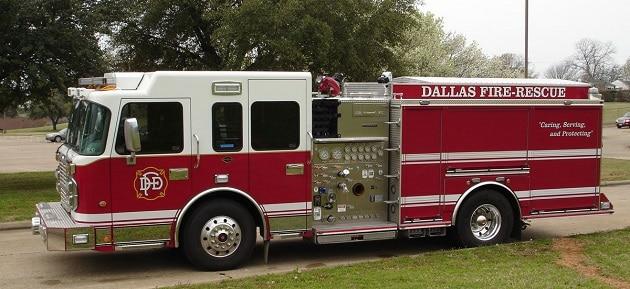 Texas Fire Department, Visite Dallas