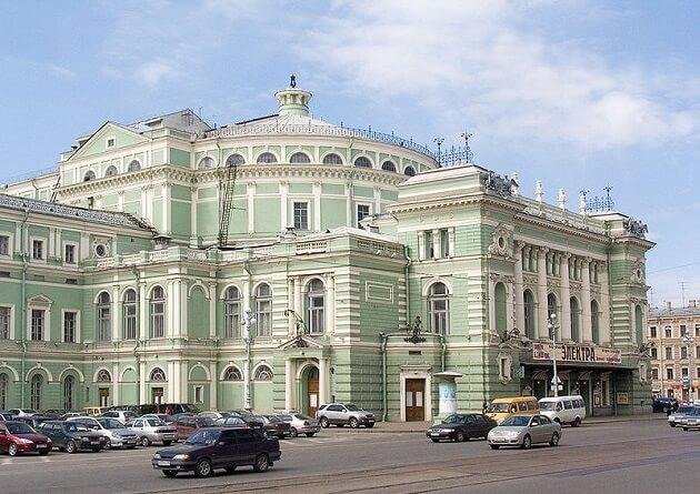 Theâtre Mariinsky, Saint Petersbourg