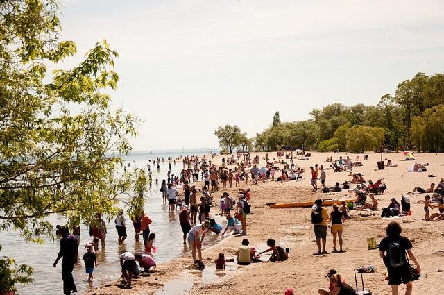 Toronto Islands, iles de Toronto