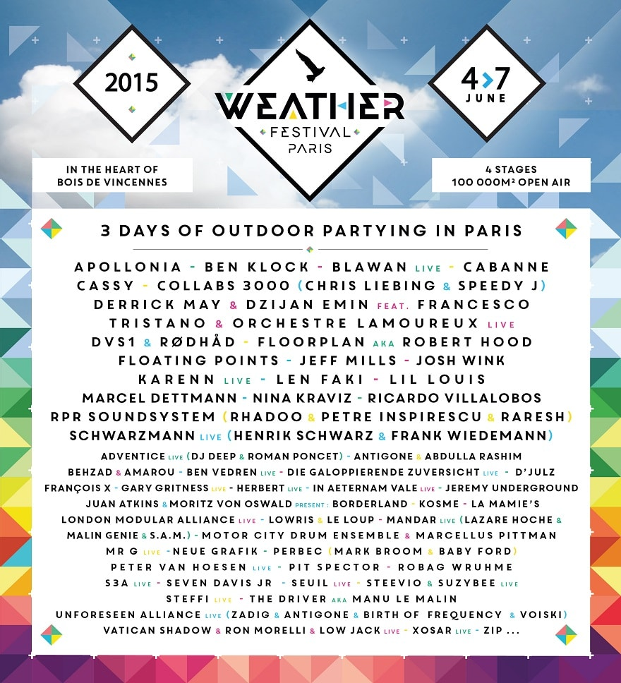 Weather Festival, 2015