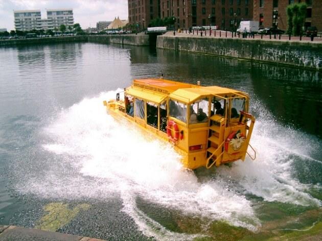Yellow Duck Marine Tour, Liverpool